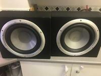 Subwoofers splx audio car audio