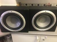 Subwoofers splx audio car audio SUB ONLY