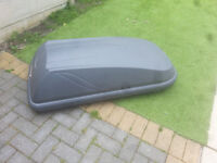 for sale Halfords 250L Roof Box Grey ready to fit on your car and use £50