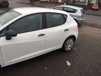 Seat Ibiza ibis white 2013 cheapest on market not Audi bmw Mercedes golf corsa