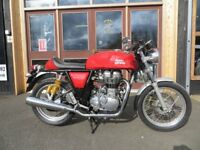 EVOLUTION MOTOR WORKS - 2015 Royal Enfield 535cc Continental GT - Only 7599 miles on the clock.