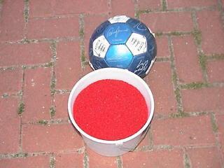 Red sand gravel for fish tank aquarium
