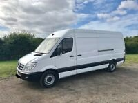 MERCEDES SPRINTER 313 CDI LWB DIESEL 2012 62-REG FULL SERVICE HISTORY *1 YEARS MOT* DRIVES EXCELLENT