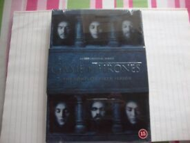 Game of Thrones Series 6 DVD New/Sealed Trusted Seller