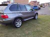 "2006 BMW X5 3.0d SPORT FSH SATNAV/TV 20"" LE MANS WHEELS GREAT CONDITION (MAY PX P/X PART EXCHANGE)"