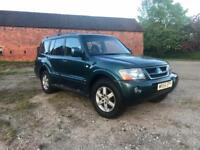 MITSUBISHI SHOGUN 3.2 DI-D Elegance 5dr diesel Automatic with 7 Seats-6 MONTHS MOT-FSH