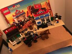 Lego System western 6765 the gold junction