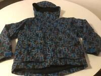 Boys waterproof Trespass jacket age 5-6