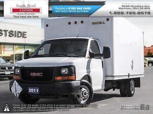 2011 GMC Savana Commerical Cut Van 177` 177 WB,2 Door