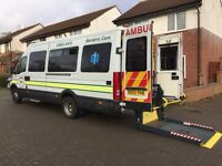IVECO 2.8 LWB 2003 AMBULANCE/CAMPER,ONLY 51750 MILES,FSH,1 OWNER,MINT CONDITION