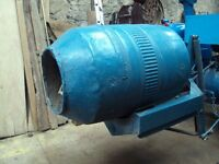 Cement Mixer - to suit tractors. 3.Linkage.