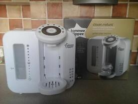 Tommee Tippee Perfect Prep Machine and other items