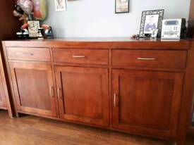 Solid Contempory Sideboard