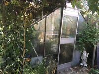 FREE 8' x10' Greenhouse free to anyone that wants to dismantle and take away