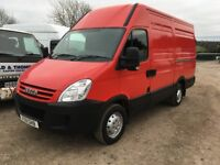 IVECO DAILY 35S12 MWB HIGH TOP 3300 H2 VAN, 2011, 82,000 MILES, MOT, DRIVES 100%, NOT EX POST OFFICE