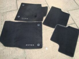 Set of Vauxhall Astra interior mats