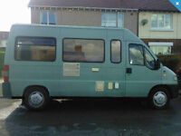 Campervan Fiat Ducato Campervan, 2.5D, 2 Berth, full MOT (til June 17th)