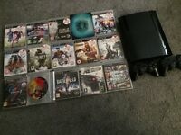 PS3 slim 500Gb+15 games
