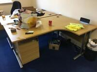 Office Desks and Chairs are selling(Second hand)