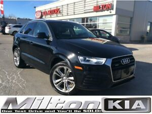 2018 Audi Q3 2.0T Progressiv | LEATHER | SUNROOF
