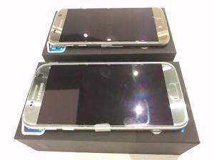 Brand New unlocked Samsung S7 Edge LTE AWS Dual SIM Silver Black Blue Pink