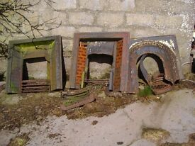 Cast-iron fireplaces