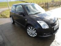 SUZUKI SWIFT 1.6 SPORT 3d 124 BHP 6 Month RAC Parts & Labour Warranty