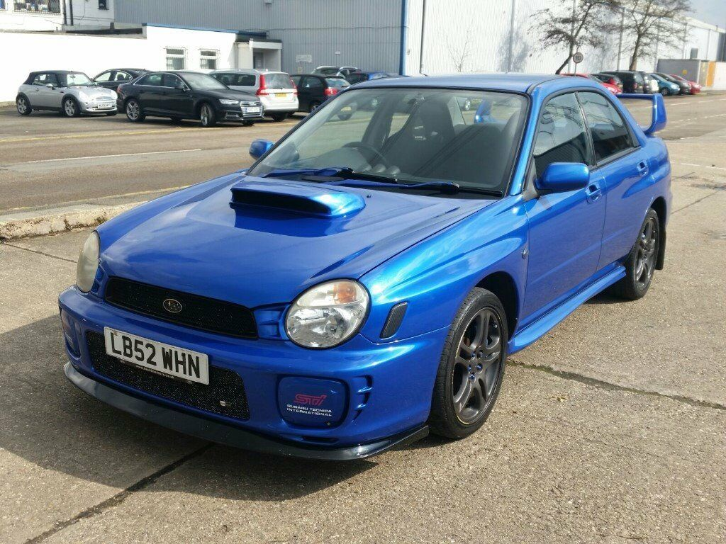 2002 52 subaru impreza 2 0 wrx turbo saloon boost bhp. Black Bedroom Furniture Sets. Home Design Ideas