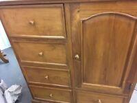 Indonesian rustic chest/cupboard