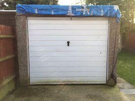 Concrete garage - dismantled