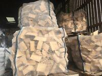 Very Dry Short Cut Hardwood Logs