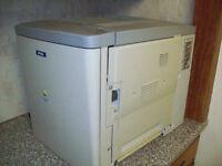 epson aculaser C900 laser toner printer full working order + extras
