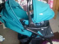 Babys buggy and car seat