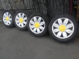 """Tansy! Daisy 16"""" alloy wheels"""