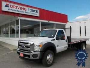 2016 Ford F-550SD XLT Regular Cab 4X4 DRW 14' Flat Deck