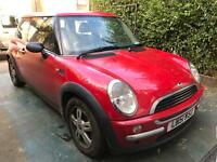 Mini Cooper One Red 1.6 1 owner from new