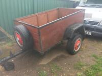 Car box trailer Southampton