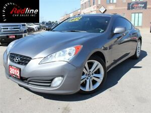 2012 Hyundai Genesis Coupe 2.0T Premium Bluetooth-Leather-Sunroo