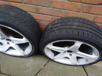 Renault clio alloys good tyres