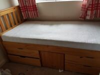 3FT CAPTAIN BED FOR SALE.