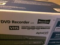 Brand new Panasonic dvd vhs recorder with freeview