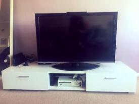 Tv unit cabinet with 2 drawers