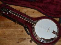 Deering Maple Blossom professional Tenor banjo 1991