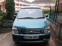 Suzuki wagon r+ Wheelhome VikestianCAMPERVAN 1 BERTH ELEVATING ROOF AUTO PETROL 2004 3 belted seats