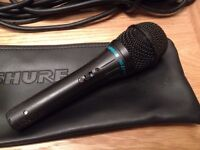 Shure BG 2.1 Professional Dynamic Microphone plus Long Cable.
