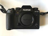 FUJI Brand New X Series FUJIFILM X-T2 Camera Body Only XT2 XT-2