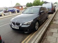 BMW M SPORT 525 D 3LTR DEIsel brand new mot great condition