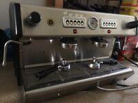 Brasilia 2 group commercial coffee machine.
