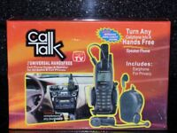 Brand New Universal Handsfree Cell Phone Holder Call Talk Hands Free Kit with Earphone