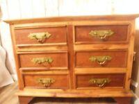 Big solid set of drawers